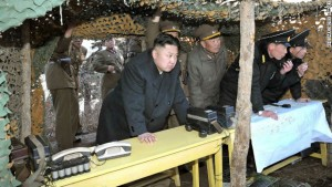 CNN | North Korean leader Kim Jong Un inspects drills by the Korean People's Army (KPA) Navy at an undisclosed location on North Korea's east coast in a photo from the state-run Korean Central News Agency taken on March 25, 2013.