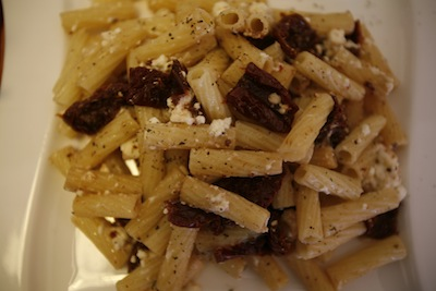 penne with dried tomatoes 3
