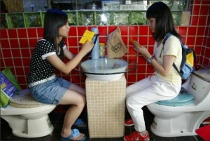 toilet-themed restaurant