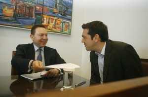 Minister for Finance Meets with Political Leaders / Ενημέρωση Πολιτικών Αρχηγών από τον Γιάννη Στουρνάρα για το Θέμα της Κύπρου