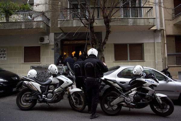 Investigation of anti-terrorist squad / Έρευνα της αντιτρομοκρατικής