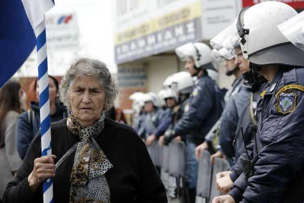 ierissos chalkidiki protest 01