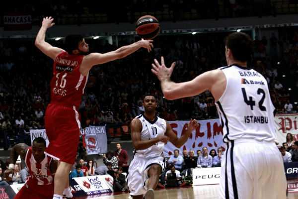 Αγώνας Ολυμπιακού - Αναντολού Εφές στο πλαίσιο της Ευρωλίγκα στο ΣΕΦ, Αθήνα, 11 Απριλίου / fosphotos.com | Philippos Messinis