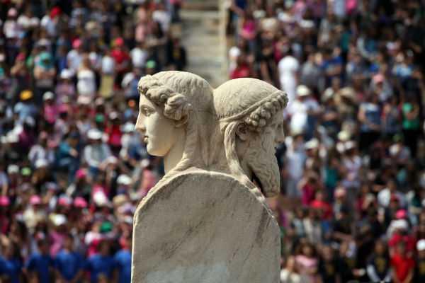Η αναβίωση των Ολυμπιακών Αγώνων στο Καλλιμάρμαρο, Αθήνα, 12 Απριλίου / fosphotos.com | Menelaos Myrillas