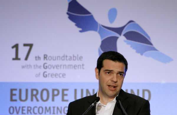 Αλ. Τσίπρας «ισχυρή και πετυχημένη διαπραγμάτευση των δανειακών μας υποχρεώσεων», στο Συνέδριο του Economist / Αθήνα, Τρίτη 16 Απριλίου / fosphotos.com | Panayiotis Tzamaros