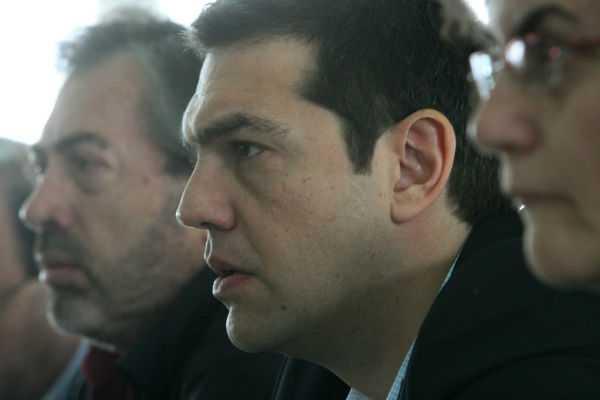 Συνάντηση Αλ. Τσίπρας με τους εκπροσώπους της Πανελλήνιας Ομοσπονδίας Σιδηροδρόμων Ελλάδας, Αθήνα, 08 Απριλίου / fosphotos.com | Angeliki Panagiotou