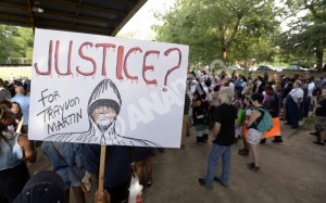 Travon Martin rally in Atlanta, Georgia