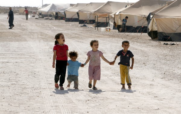 Angelina Jolie visits Syrian refugee camp in Jordan