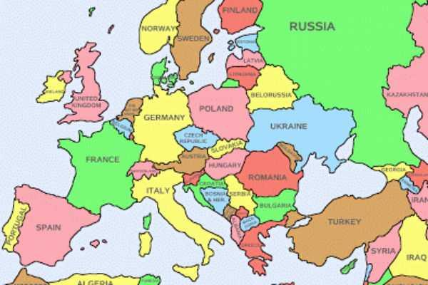 europe map1