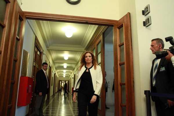 Cabinet; Greek Parliament; meeting; new Government; ÂïõëÞ; Êïéíïâïýëéï; ÍÝá ÊõâÝñíçóç; Óõíåäñßáóç; Õðïõñãéêü Óõìâïýëéï