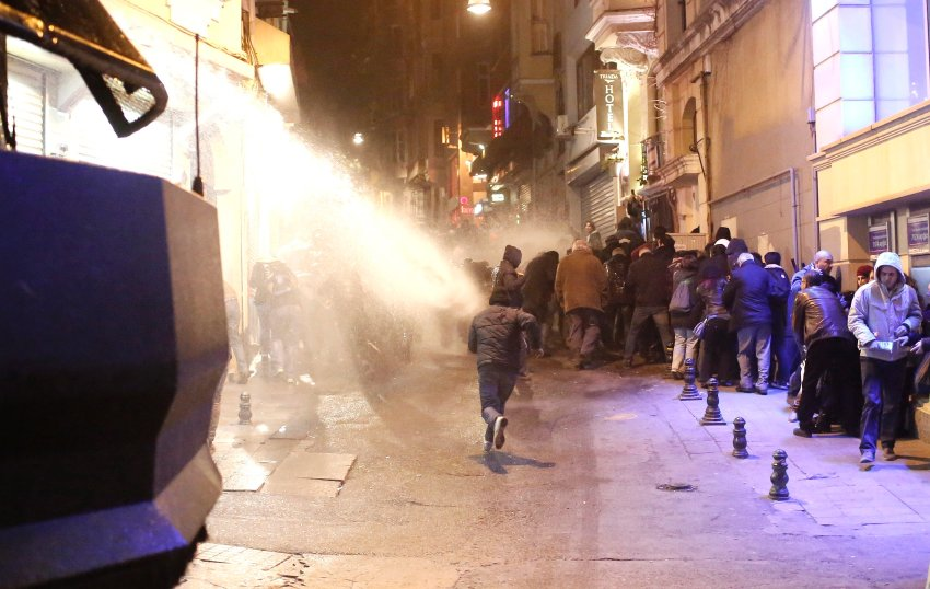Anti government Protest in Istanbul