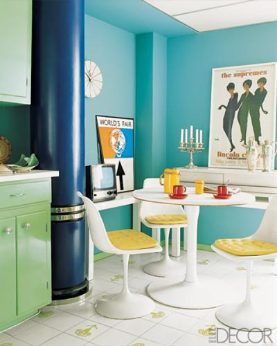 Kitchen Decor Turquoise: One Of A Kind Kitchens!