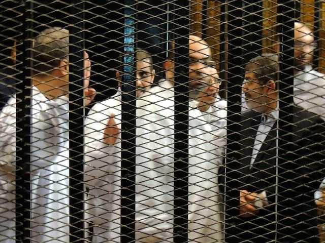 Ousted Egyptian President Mohamed Morsi on trial