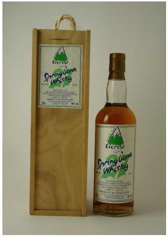 whisky everest