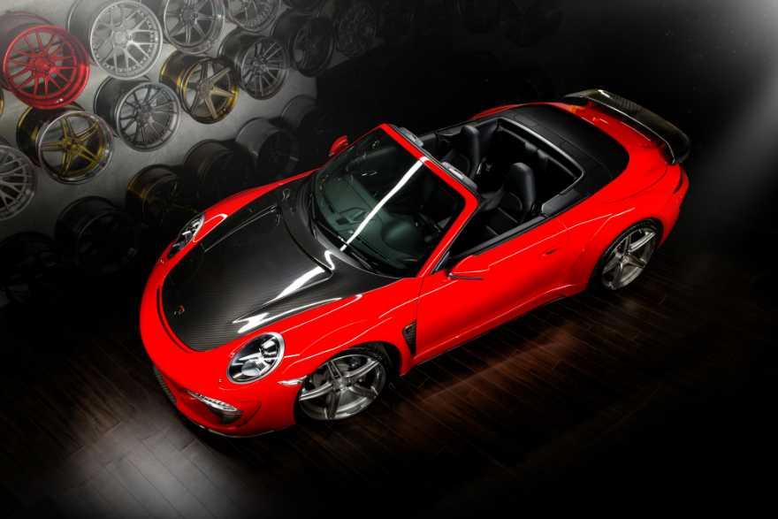 Porsche 911 Carrera Cabriolet Stinger by TopCar