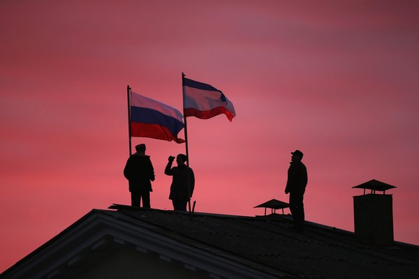 BESTPIX Crimean Parliament Seeks Formal Union With Russia