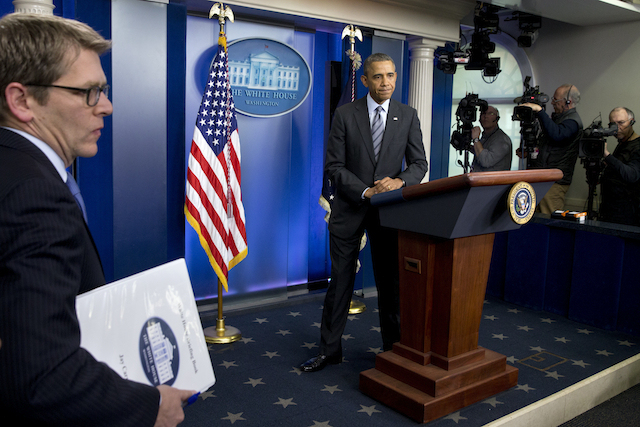 Barack Obama, Jay Carney