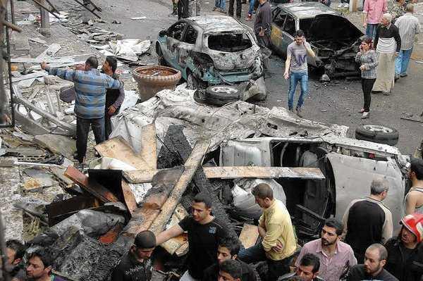Car bombing in Homs