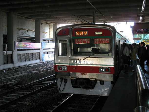 seoul metro south corea