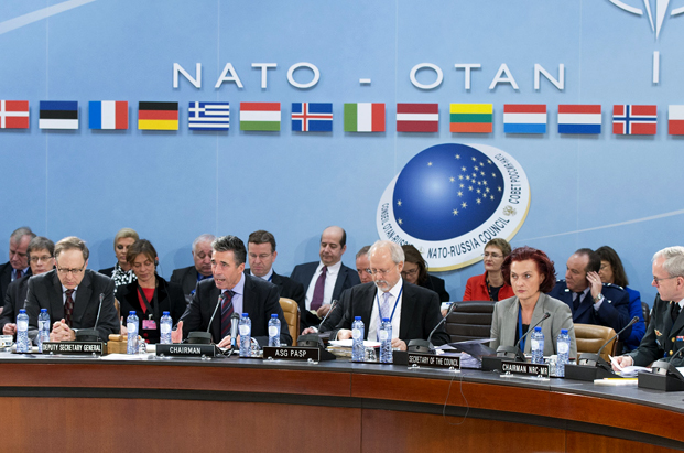 Meetings of the Ministers of Foreign Affairs at NATO Headquarters in Brussels- Meeting of the NATO-Russia Council (NRC)
