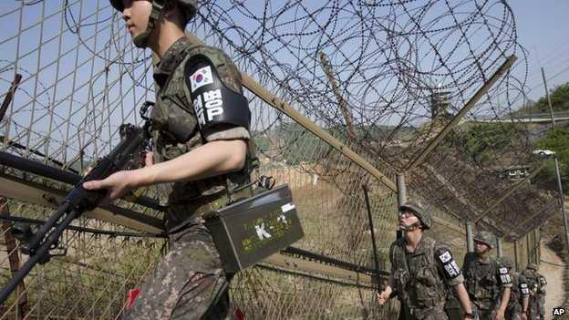 soldiers notia korea