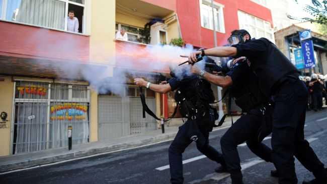 turkey-police