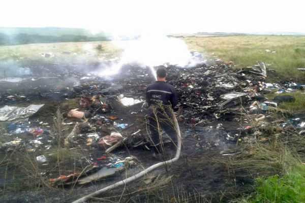UKRAINE BOEING CRASHED