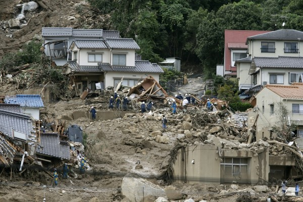 Death toll rises to 27 in landslides in western Japan