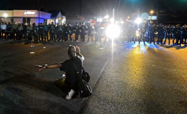 Protests against shooting of Michael Brown continue