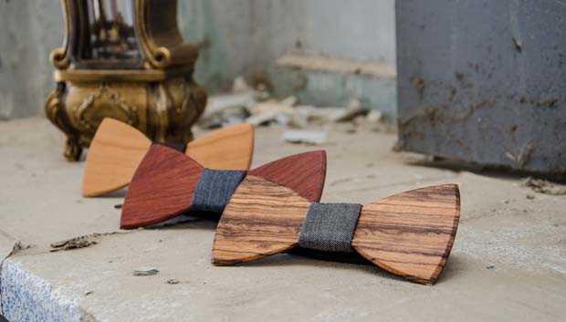 Exallo  Τα αδέρφια που κατασκευάζουν ξύλινα παπιγιόν  df713b86adb