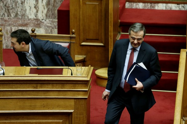 Παραιτήθηκε ο Σαμαράς από την ηγεσία της Νέας Δημοκρατιας
