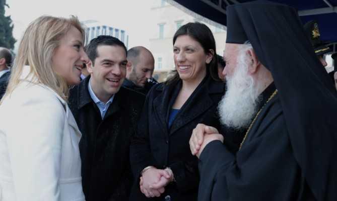 tsipras - konstantopoulou - dourou