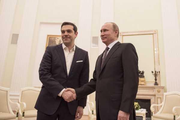 tsipras - poutin