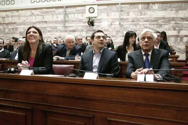 tsipras - konstantopoulou - pavlopoulos