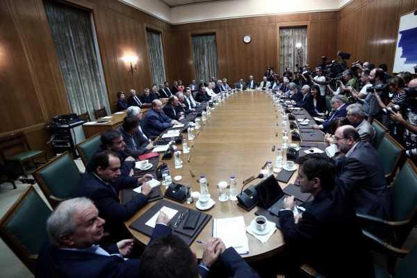 Συνεδριάζει το μεσημέρι το υπουργικό συμβούλιο  9052b62c961