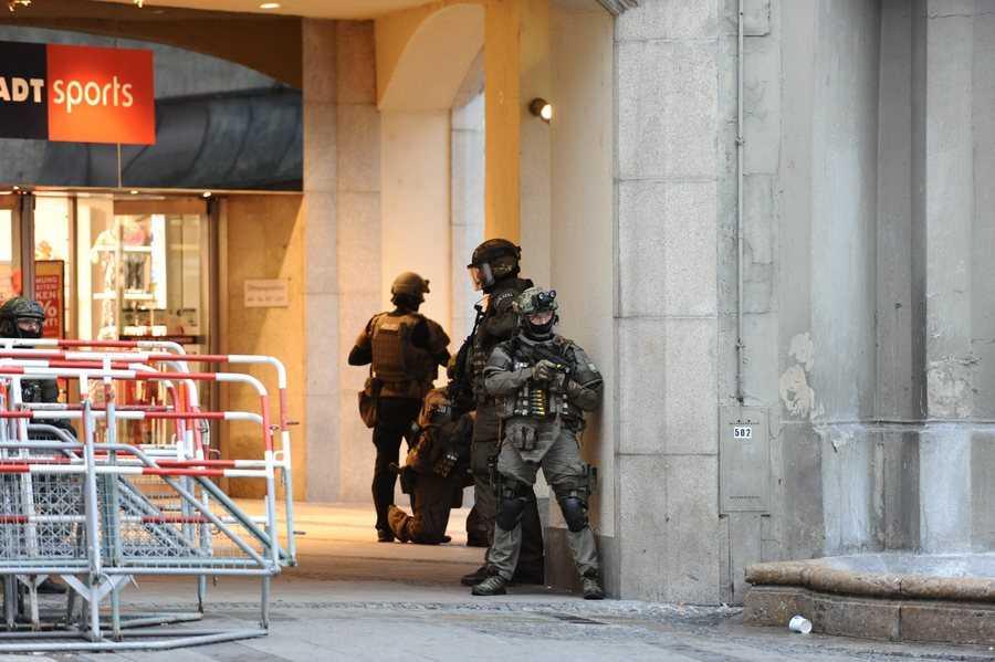 Shootout in Munich