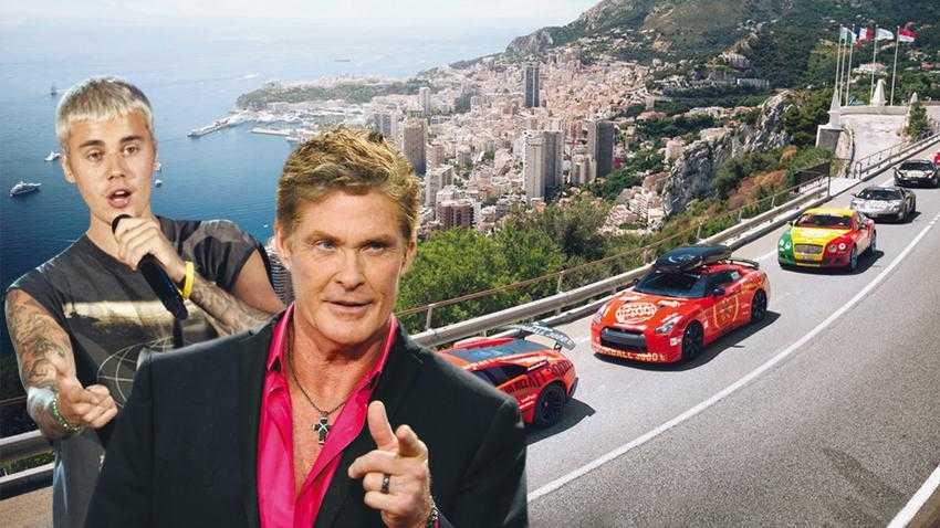 Αριστερά, μοναδικά supercars κάνουν «πασαρέλα» στο Μονακό. Πάνω, ο Τζάστιν Μπίμπερ, ο οποίος δεν αποκλείεται να συμμετάσχει στο σόου του τερματισμού. Στη Μύκονο αναμένεται να βρεθούν ο ηθοποίος Ντέιβιντ Χέισελχοφ και ο άσος του ΝΒΑ Κόμπι Μπράιαντ.