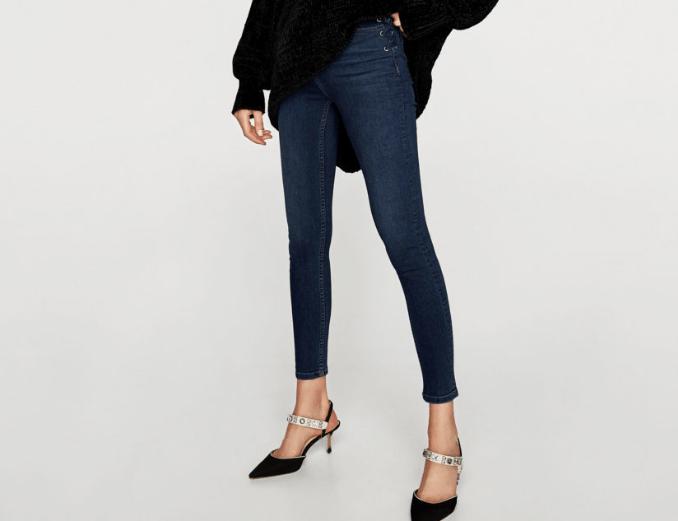 Η Zara θέλει να φορέσουμε αυτή την τάση στα τακούνια σε συνδυασμό με skinny  jeans 8649d584af3