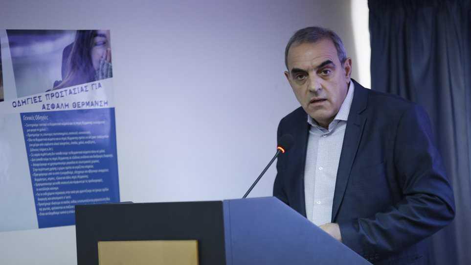 Αποτέλεσμα εικόνας για Παραιτήθηκε ο Γενικός Γραμματέας Πολιτικής Προστασίας Γιάννης Καπάκης