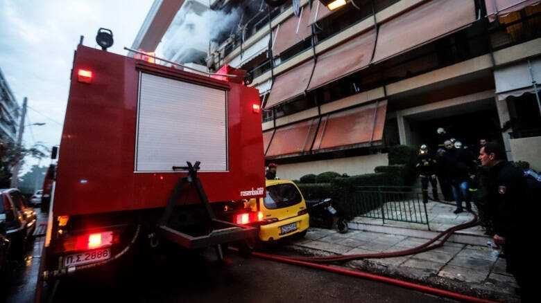 Φωτιά σε διαμέρισμα στην Αχαρνών – THE PAPER